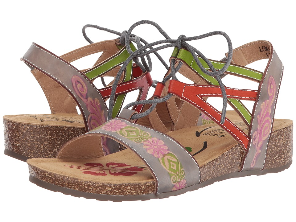 L'Artiste by Spring Step Loma (Grey Multi) Women's Shoes