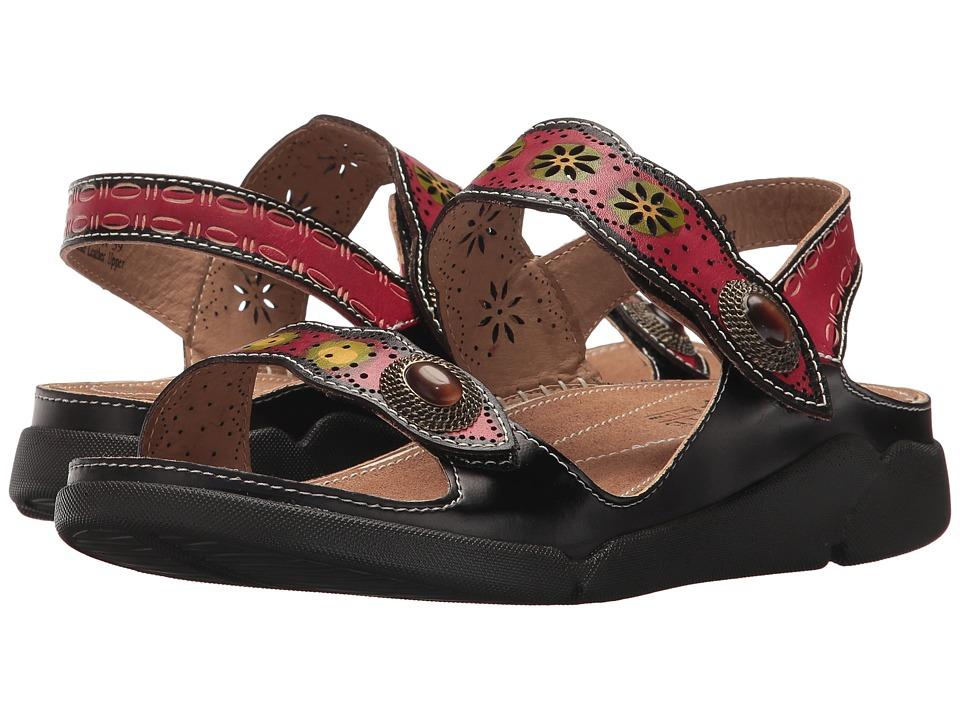 L'Artiste by Spring Step Louann (Black) Women's Shoes
