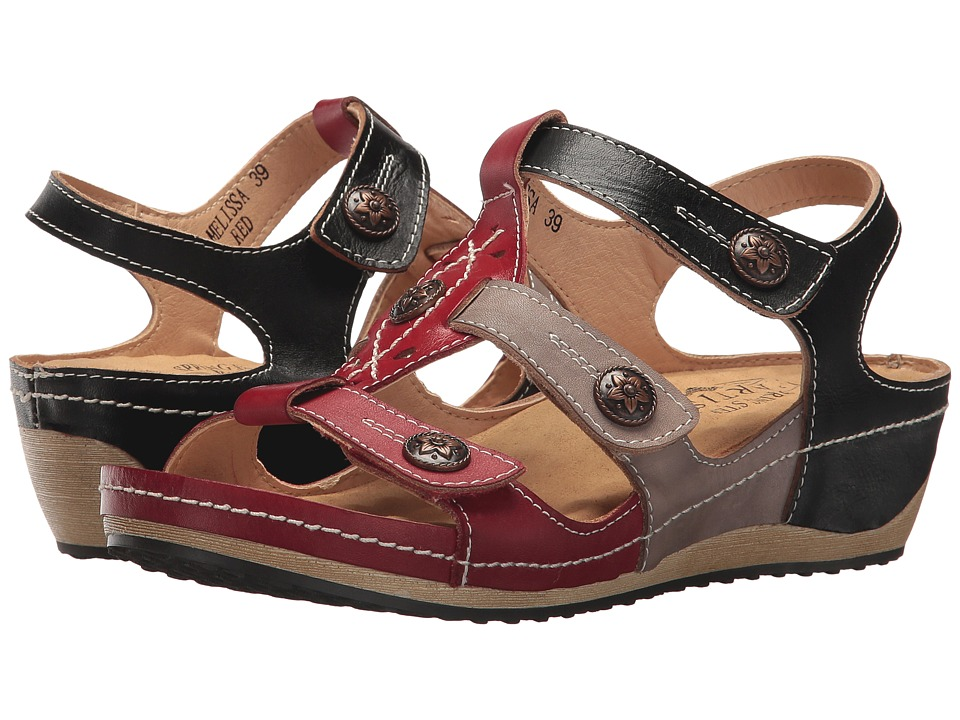 L'Artiste by Spring Step Melissa (Red Multi) Women's Shoes