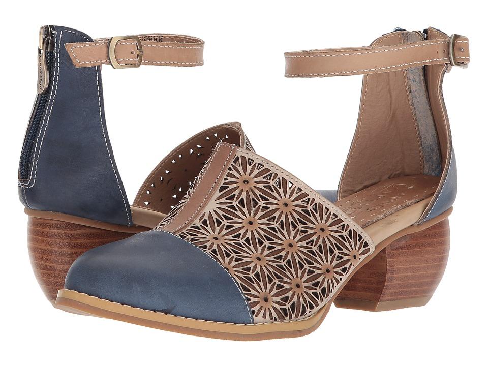 LArtiste by Spring Step - Pauletta (Navy Multi) Womens Shoes