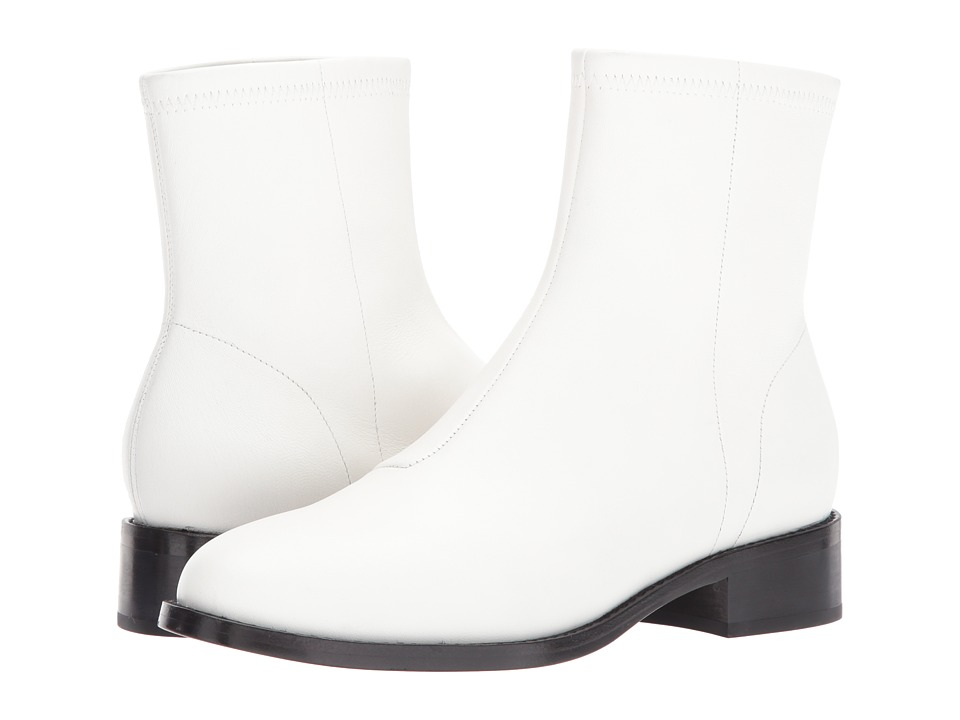 Opening Ceremony - Dani Flat Boot (White) Womens Boots