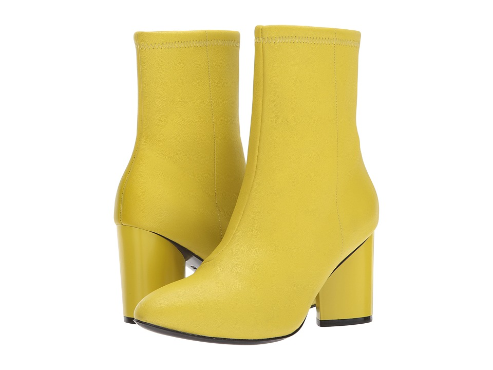 Opening Ceremony - Dylan Leather Boot (Acid Green) Womens Boots