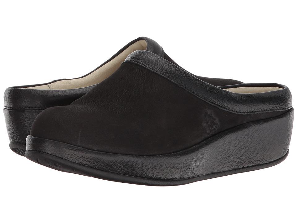 FLY LONDON BEAK809FLY (Black Cupido/Mousse) Women's Shoes