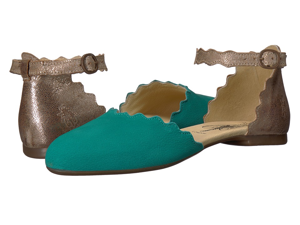 FLY LONDON - MEGS210FLY (Verdigris/Luna Cupido/Cool) Womens Shoes