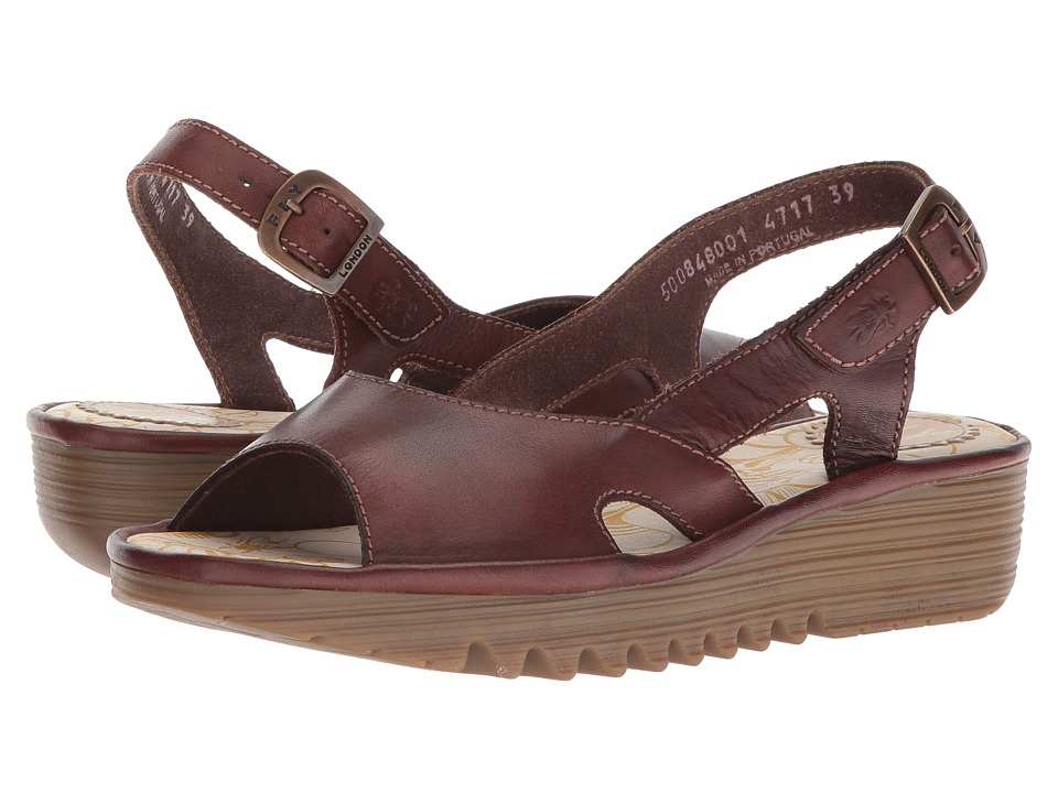 FLY LONDON - ELFE848FLY (Brown Colmar) Womens Shoes