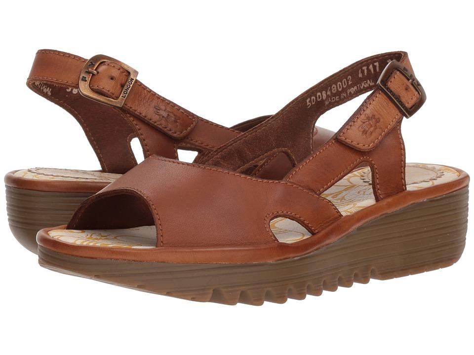 Fly London ELFE848FLY (Tan Colmar) Women's Shoes
