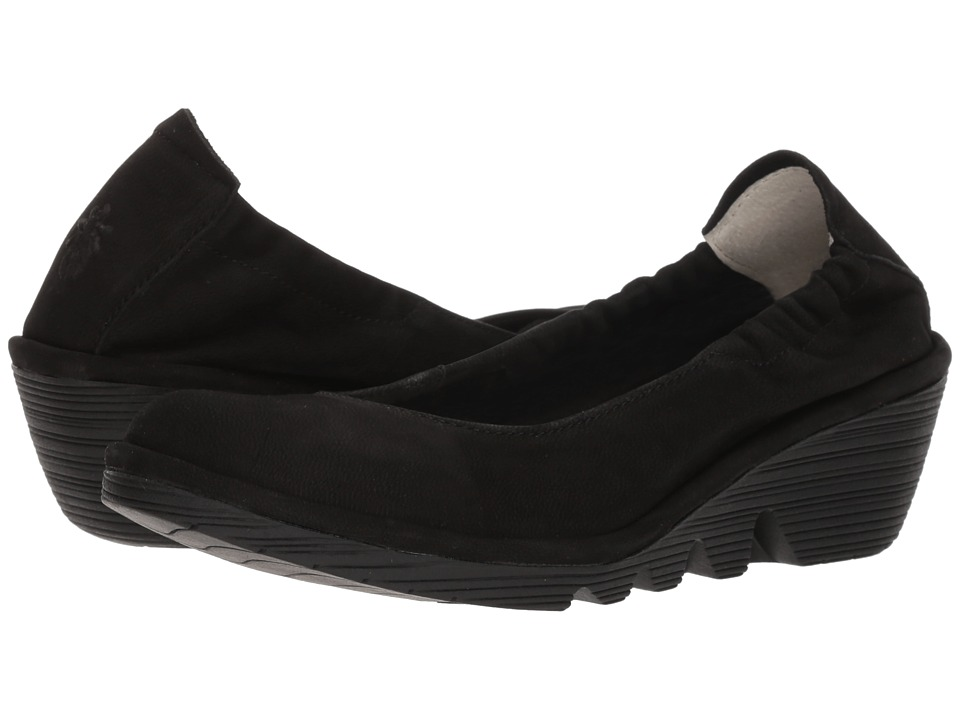 FLY LONDON - PLED819FLY (Black Cupido) Womens Shoes