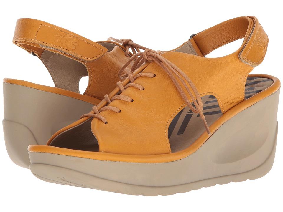 FLY LONDON JART862FLY (Honey Mousse) Women's Shoes