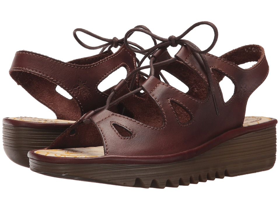 FLY LONDON - EXON871FLY (Brown Colmar) Womens Shoes