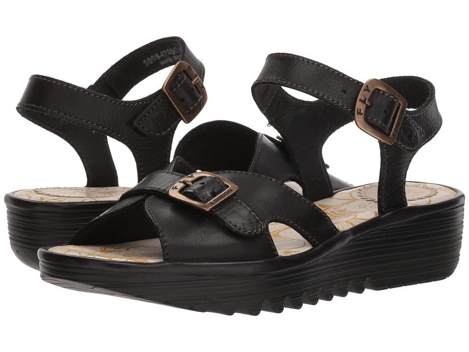 FLY LONDON EGAL847FLY (Black Colmar) Women's Shoes