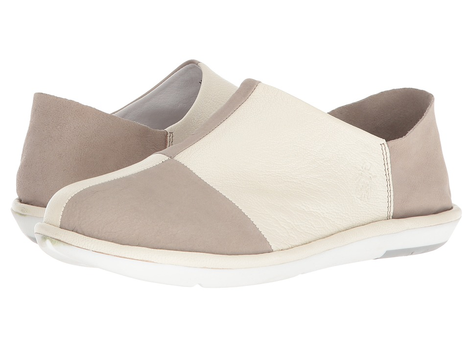 FLY LONDON - MOLA858FLY (Cloud/Off-White Cupido/Mousse) Womens Shoes