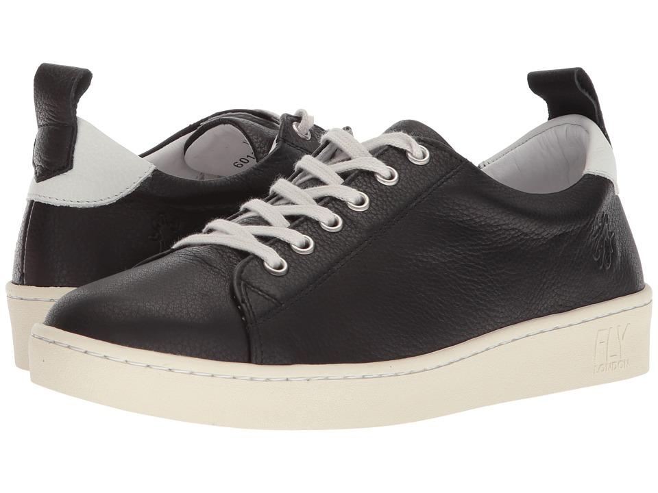 FLY LONDON - MAKU310FLY (Black Brito) Womens Shoes