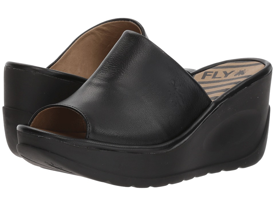 FLY LONDON - JAMB864FLY (Black Mousse) Womens Shoes