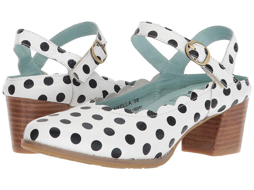 L'Artiste by Spring Step Dotanella (White Mutli) Women's Shoes