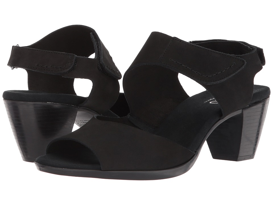 Munro - Fabiana (Black Nubuck) Women's Sandals