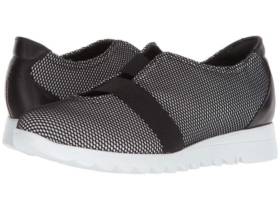 Munro Alta (Black/White Mesh) Slip-On Shoes