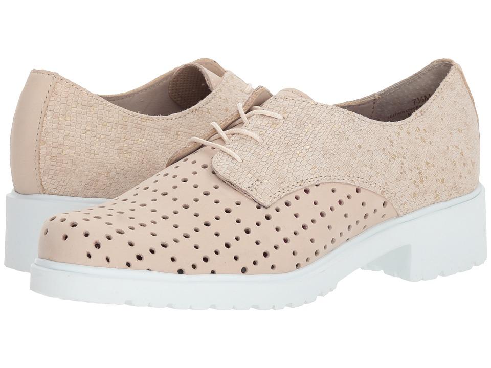 Munro Durell (Beige Nubuck/Beige Print) Women's Shoes