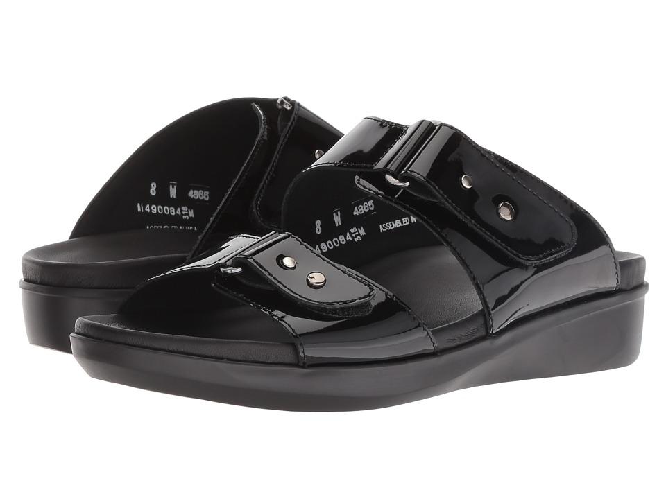Munro Maclaine (Black Patent) Sandals
