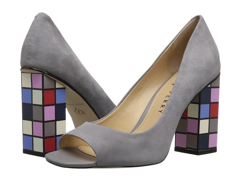 Katy Perry - The Caitlin (Dark Nickel Suede/Violet Multi) Womens Shoes