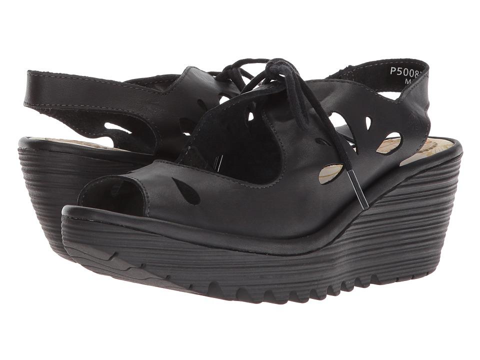 FLY LONDON YEND827FLY (Black Colmar) Women's Shoes