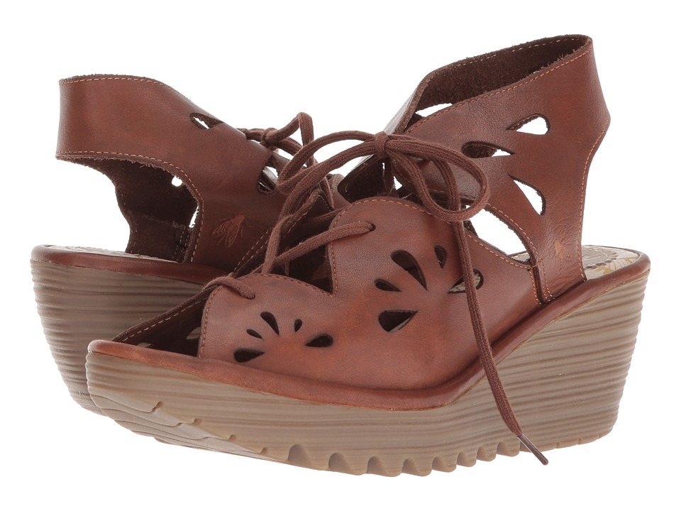 FLY LONDON YOTE828FLY (Brown Colmar) Women's Shoes