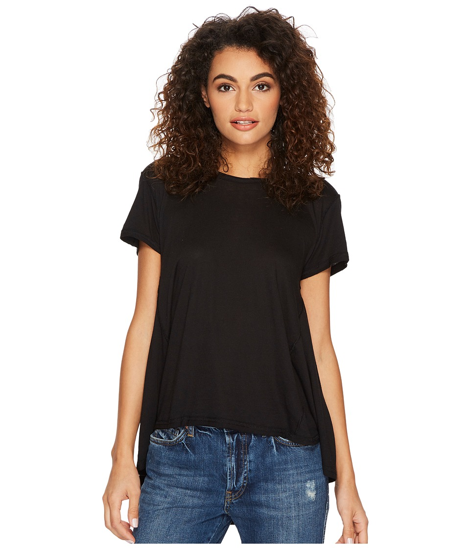 Free People Its Yours Tee (Black) Women