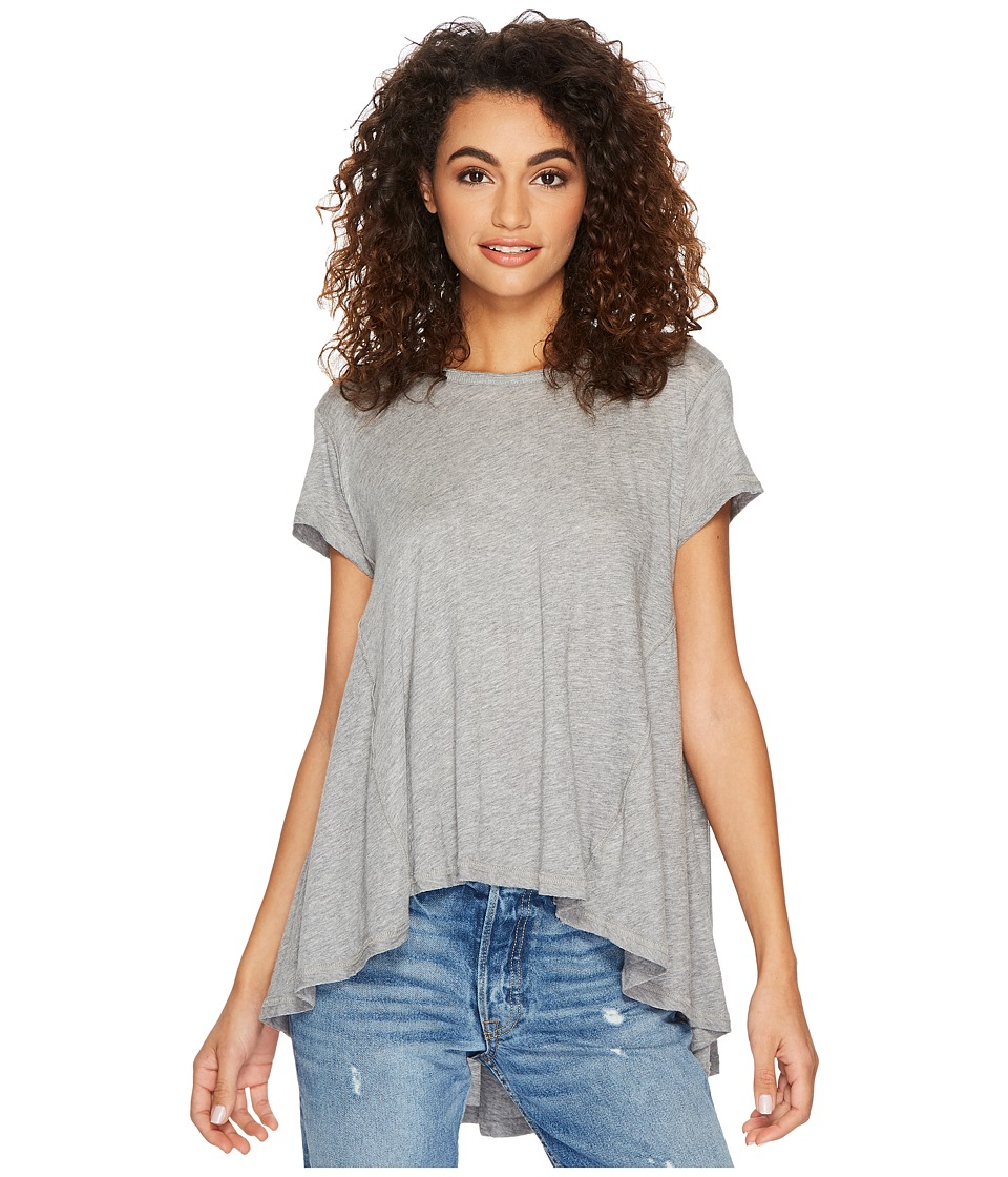 Free People Its Yours Tee (Grey) Women