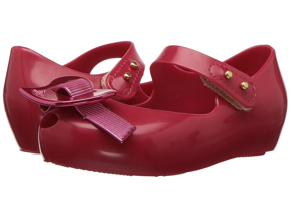 + Melissa Luxury Shoes - Vivienne Westwood Mini Anglomania + Melissa Ultragirl XI (Toddler) (Red) Womens Shoes