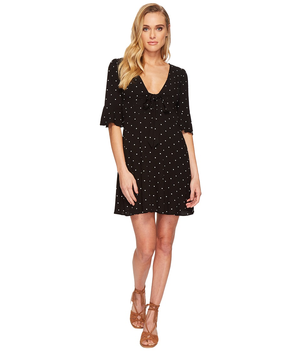 Free People - All Yours Mini (Black Combo) Womens Dress