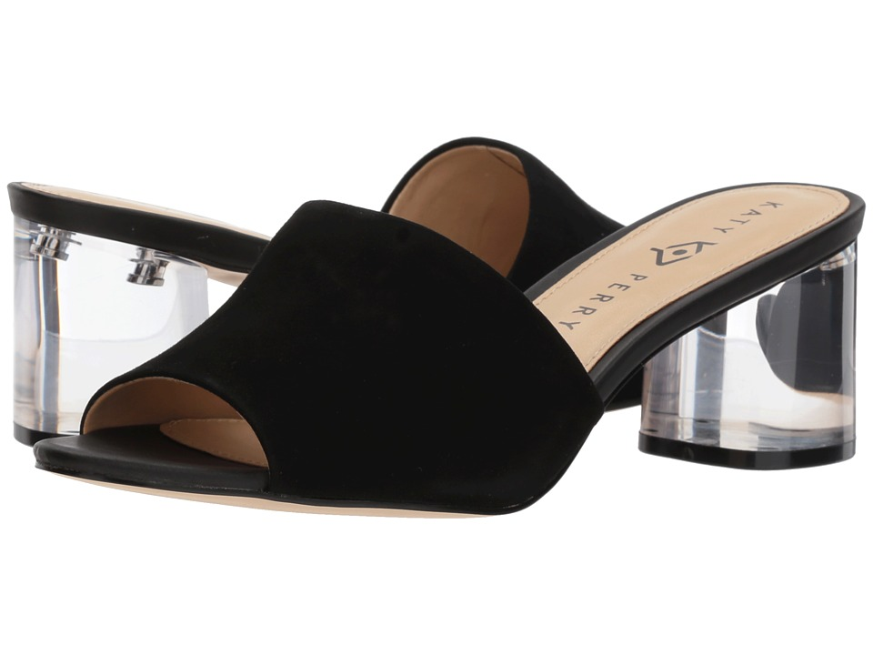 Katy Perry - The Kaitlynn (Black Suede) Womens Shoes