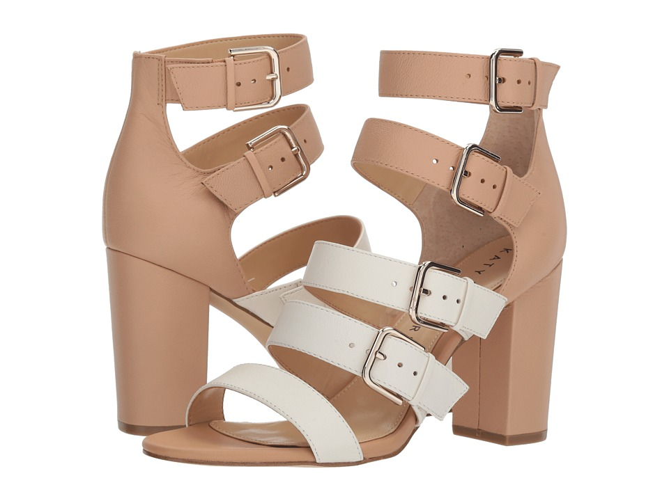 Katy Perry - The Lizette (Ivory/Blush Nude Soft Tumbled Leather) Womens Shoes