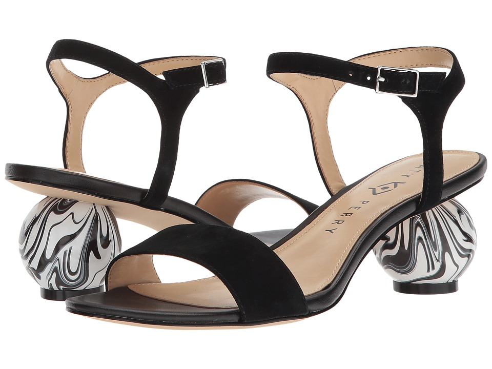Katy Perry - The Olita (Black Suede) Womens Shoes