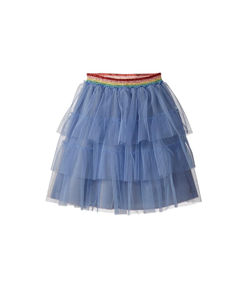 Gucci Kids - Skirt 501270ZB685 (infant) (Ceruleo/Multicolor) Girls Skirt