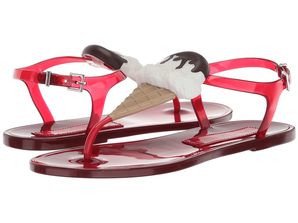 Katy Perry - The Sundae (Red PVC/Ice Cream) Womens Shoes
