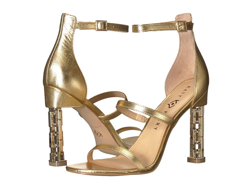 Katy Perry - The Villan (Gold Metallic Leather) Womens Shoes