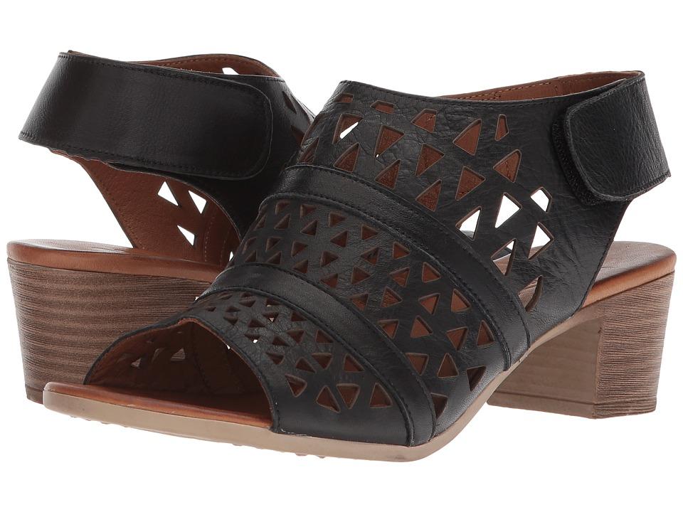 Spring Step Dorotha (Black) Women's Shoes