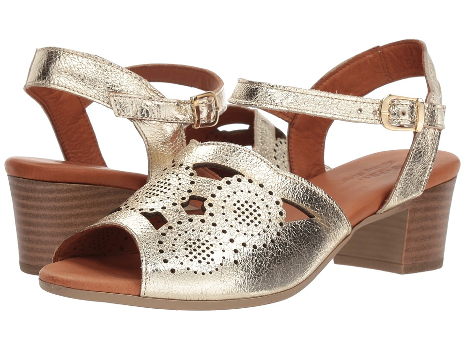 Spring Step Laverra (Gold) Women's Shoes