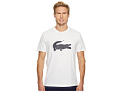Lacoste Short Sleeve Jersey Tee w/ Big Ton On Ton Croc Printed