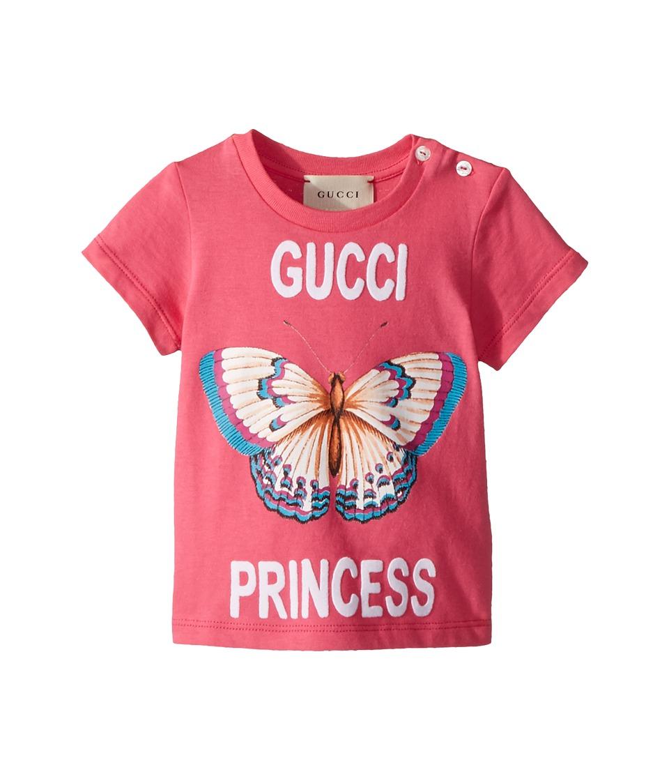 Gucci Kids - T-Shirt 504227X3L75 (Infant) (Baba White/Multicolor) Girls T Shirt