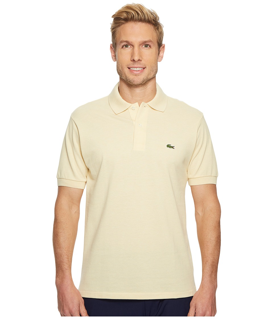 Lacoste Short Sleeve Classic Fit Chine Pique Polo Shirt (Joris Chine) Men's Short Sleeve Pullover