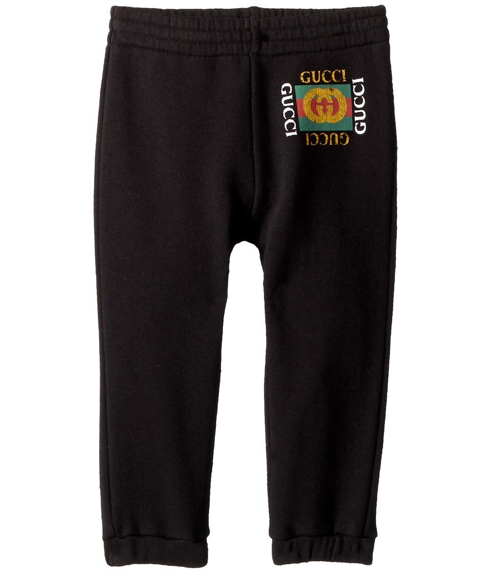 Gucci Kids - Jogging Pants 509179X3L00 (Infant) (Black/Green/Red) Kids Casual Pants