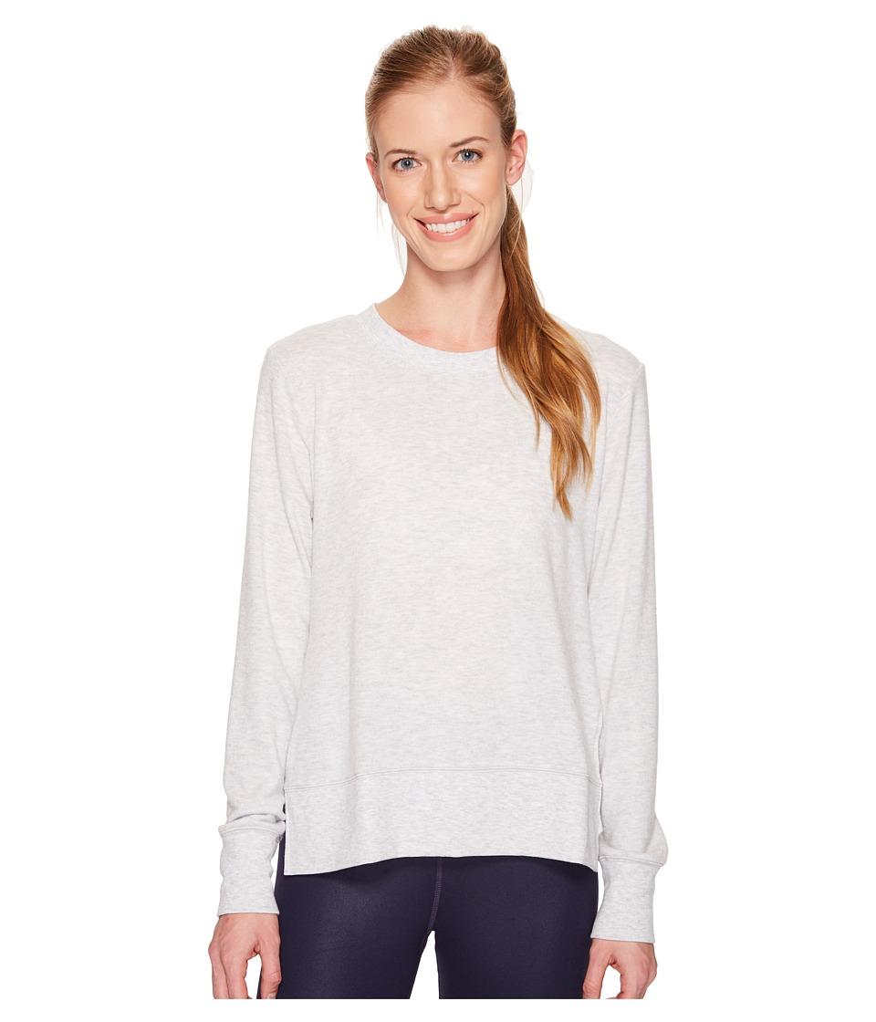 ALO Glimpse Long Sleeve Top (Dove Grey Heather) Women