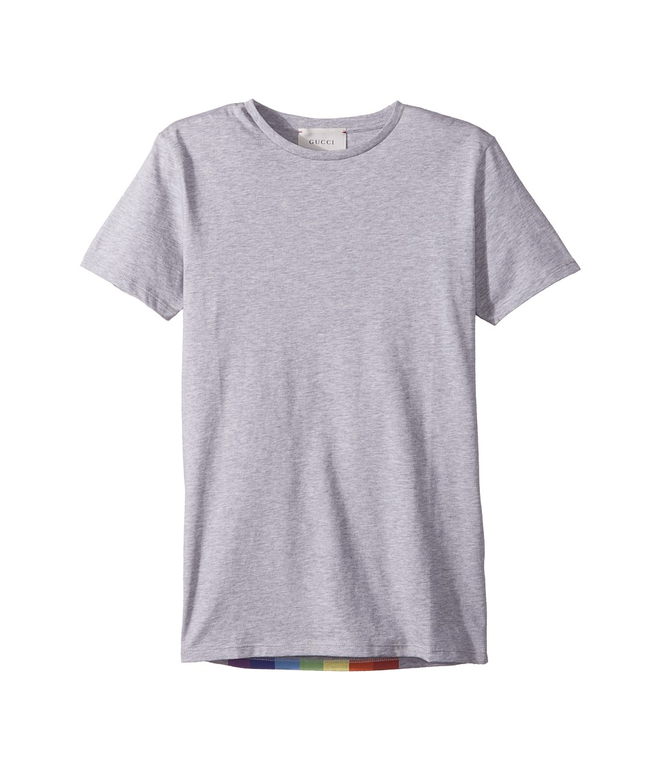 Gucci Kids - T-Shirt 498019X3I69 (Little Kids/Big Kids) (Light Grey/Multicolor) Boys T Shirt