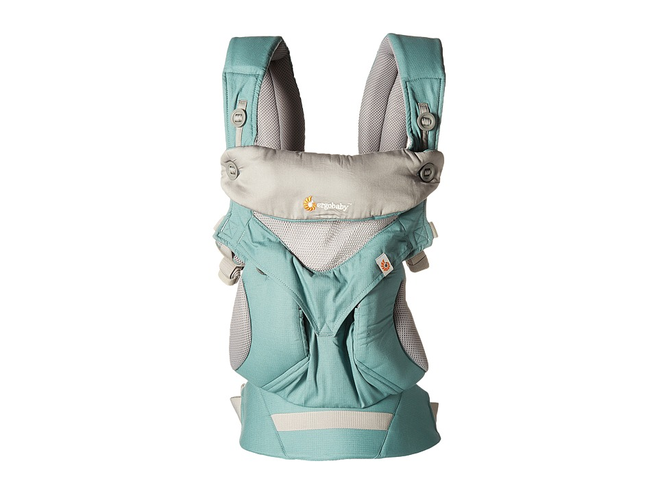 Ergobaby Four Position 360 Cool Air Carrier (Icy Mint) Ca...