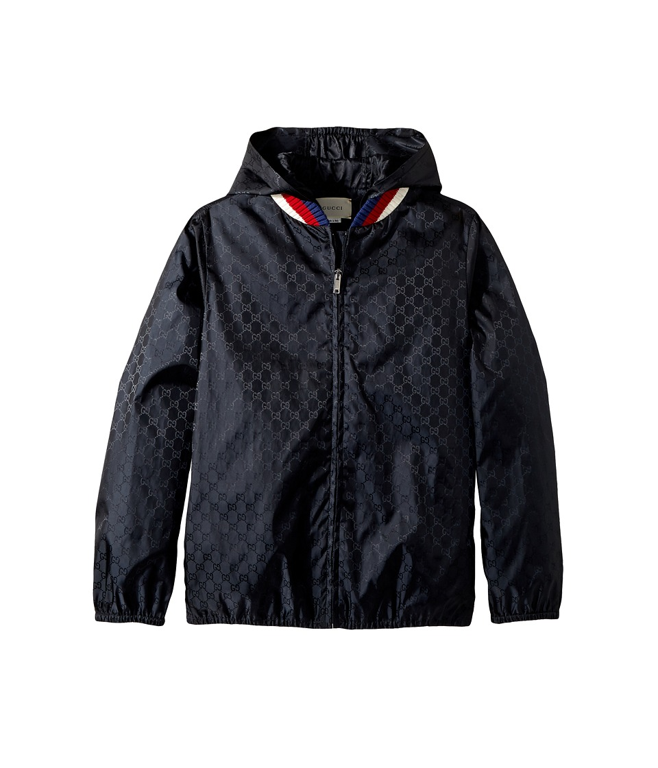 Gucci Kids - Jacket 499517XBC69 (Little Kids/Big Kids) (Navy/White/Red/Blue) Boys Coat