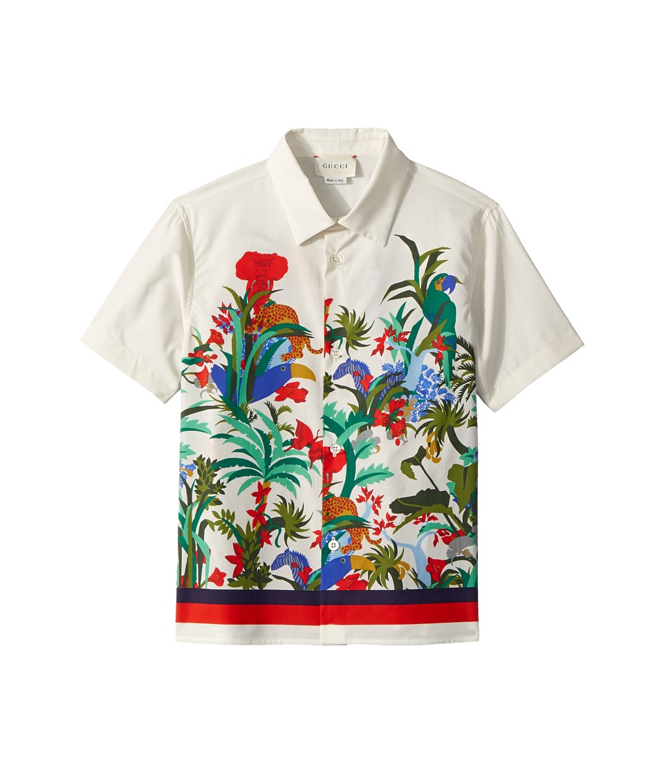 Gucci Kids - Shirt 499998XB20A (Little Kids/Big Kids) (Bone Multicolor) Boys T Shirt