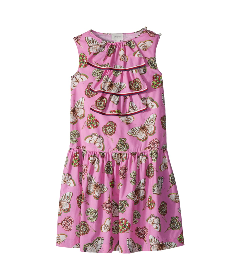 Gucci Kids - Dress 501282ZB201 (Little Kids/Big Kids) (Princess Rose/Sylvie) Girls Dress