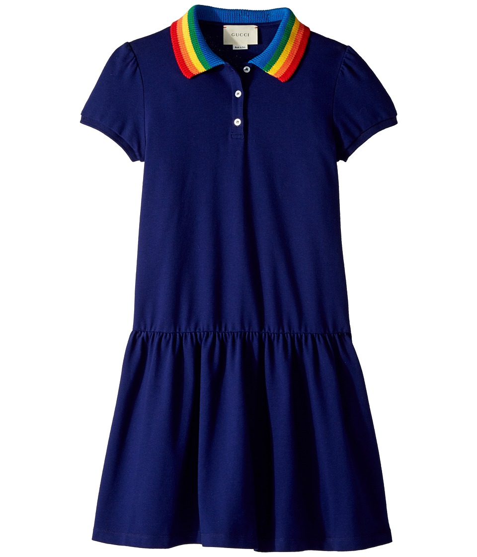 Gucci Kids - Dress 503470X9O00 (Little Kids/Big Kids) (Inchiostro/Multicolor) Girls Dress