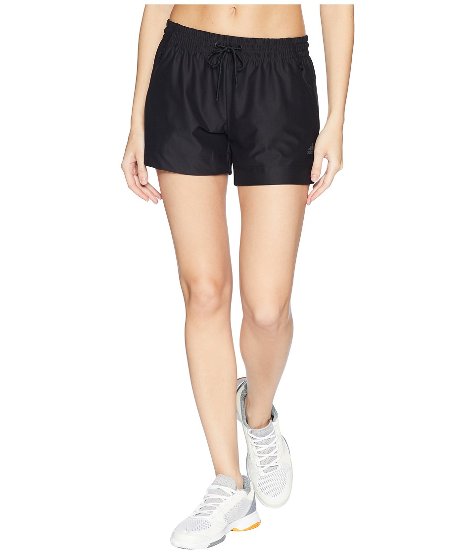 adidas ID Mesh Shorts (Black) Women's Shorts