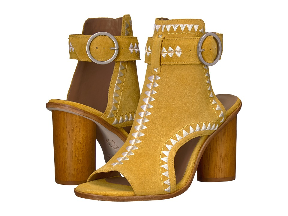 Bernardo Harper Bootie (Yellow) Women